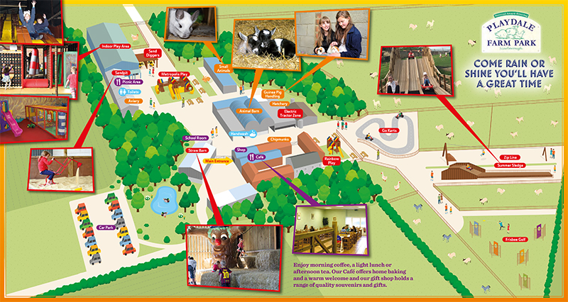 playdale farm park map